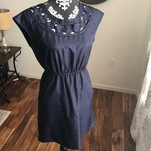 Navy blue Banana Republic dress